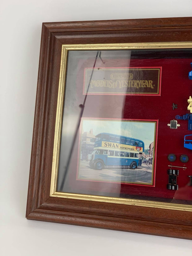 Matchbox - Models of Yesterday - Leyland Titan TDI framed collectible model. 05078