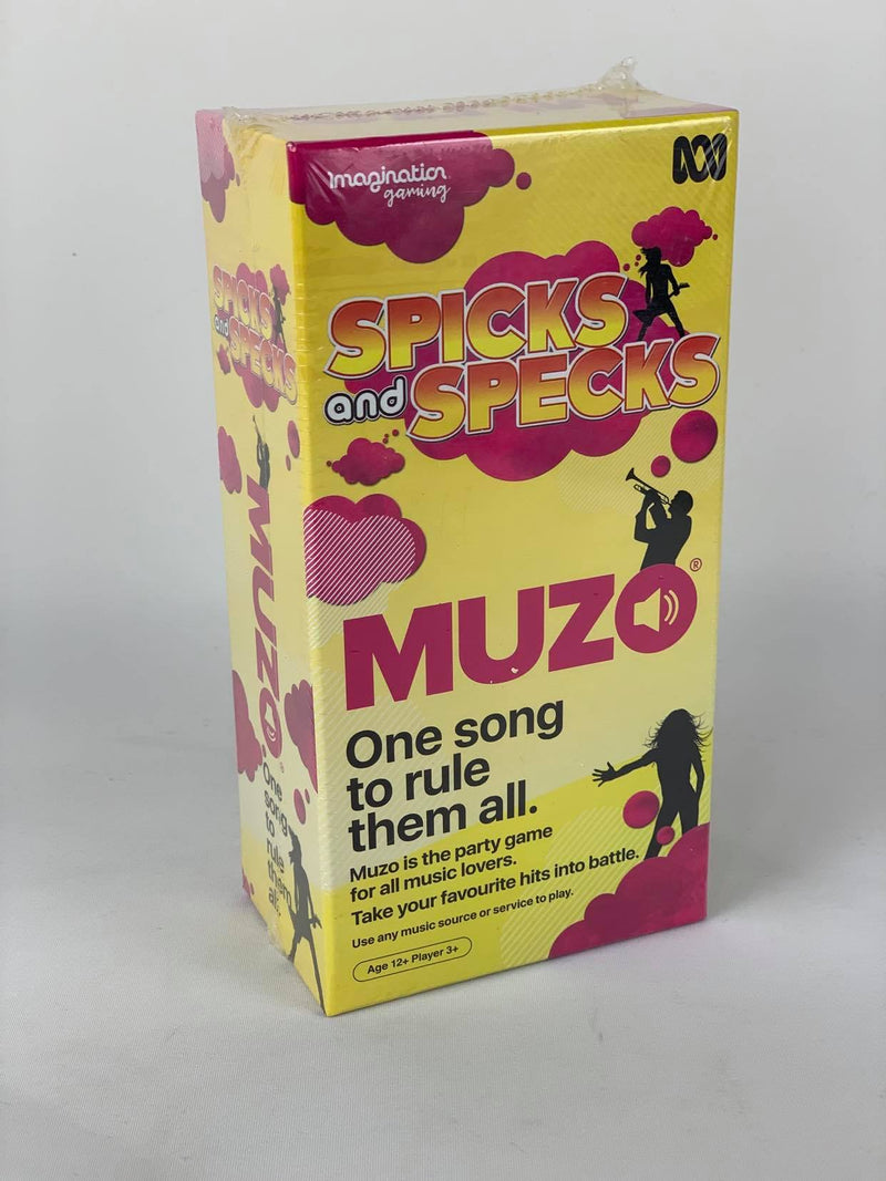 Spicks and Specks Muzo One Song To Rule Them All