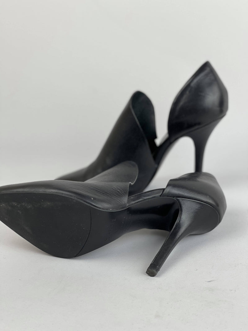 Jo Mercer leather heels size 7.5