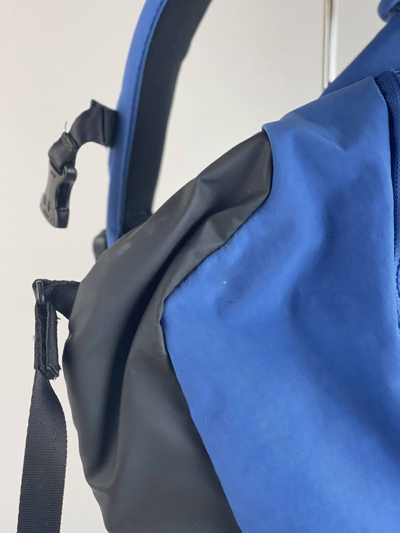 Crumpler blue 'The Adapted Limb' sling bag