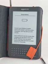 Amazon kindle Model 3rd Gen D00901 WiFi with leather case