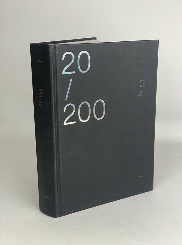 20/200 Sarah Cotter Gallery Art collections book