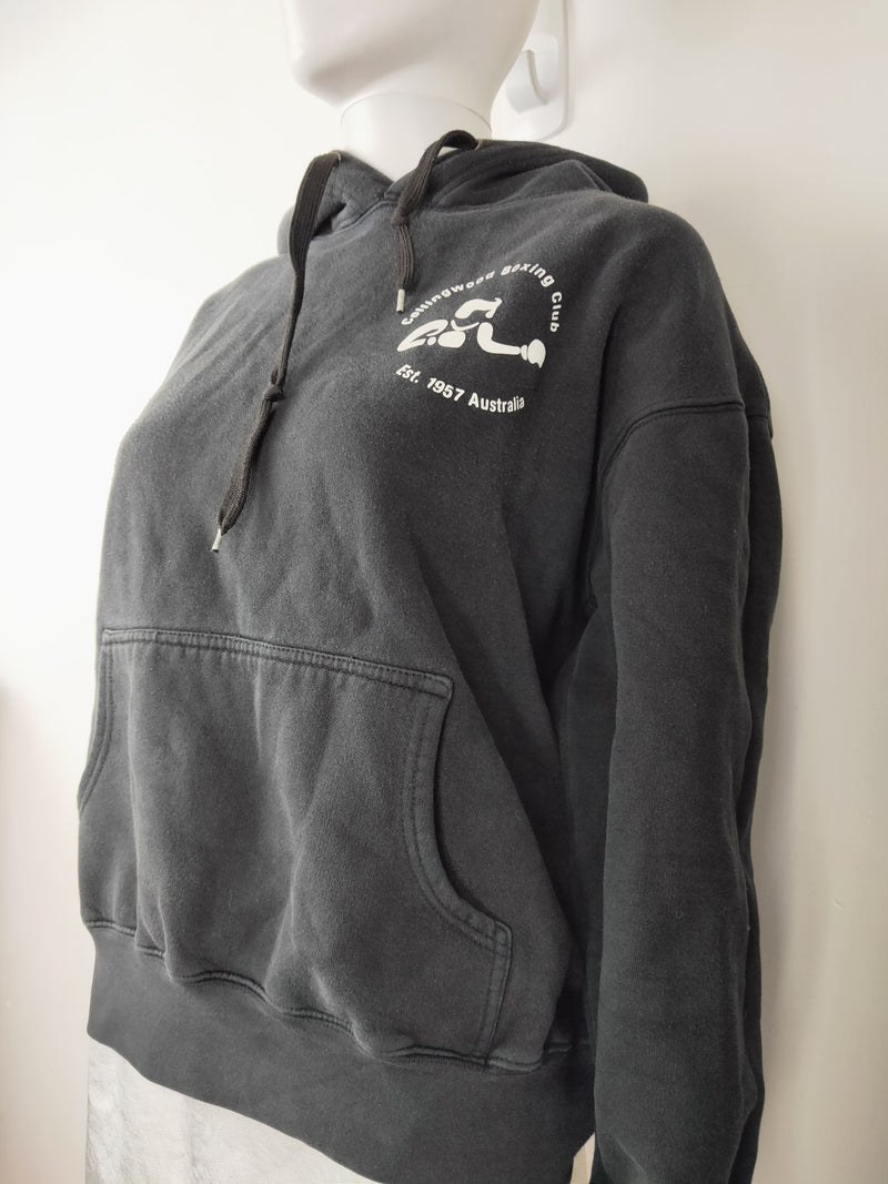 Collingwood Boxing Club Black Hoodie (Size Medium)