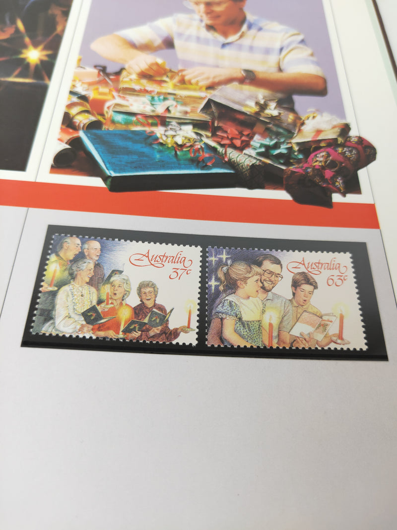 The collection of Australian stamps 1987