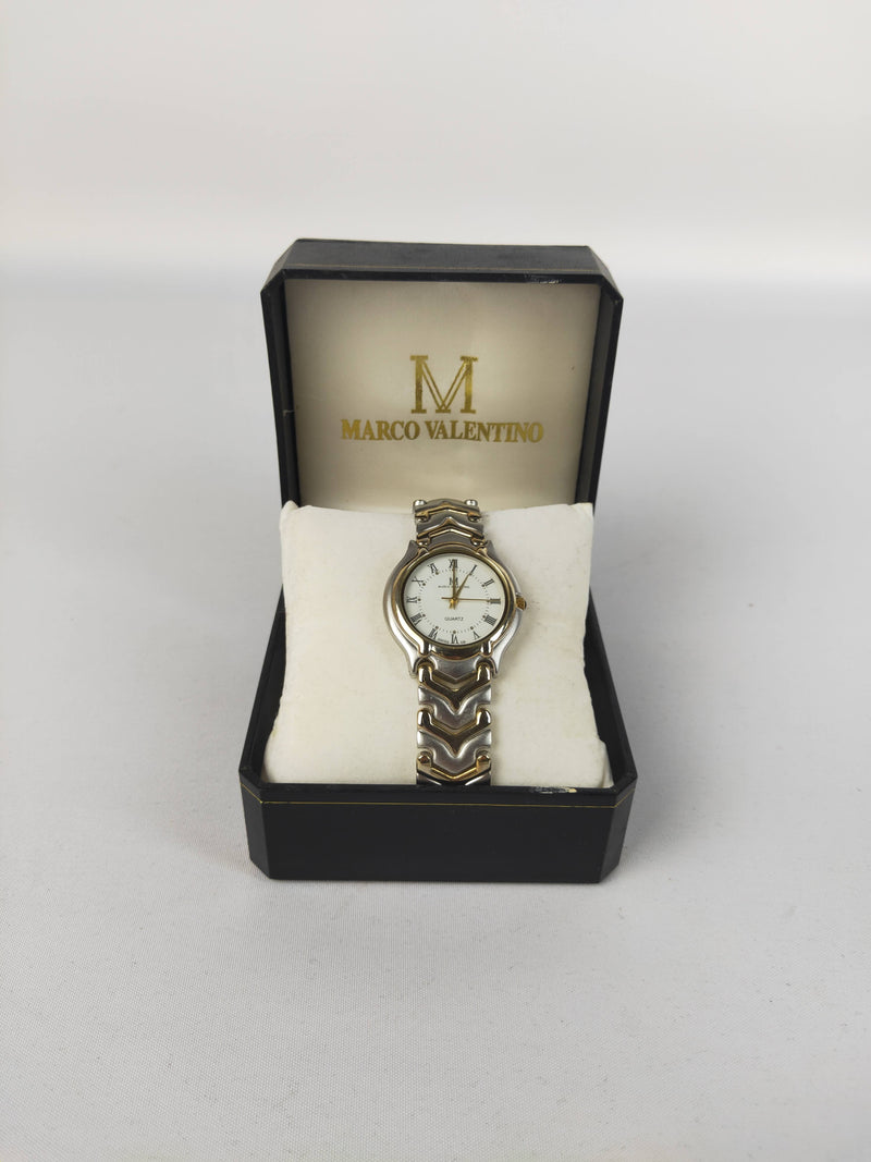 Marco Valentino 18K  Gold Electro Plated Watch