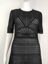 Missoni black mesh sheer dress (size 8 AU)