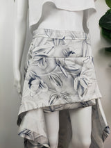 Sass Bide 'The Ornament' grey waterfall skirt (size 8 AU)
