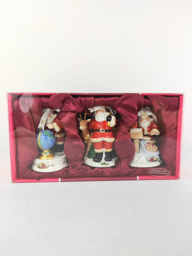 Royal Albert Christmas Figurines - Brand New in Box