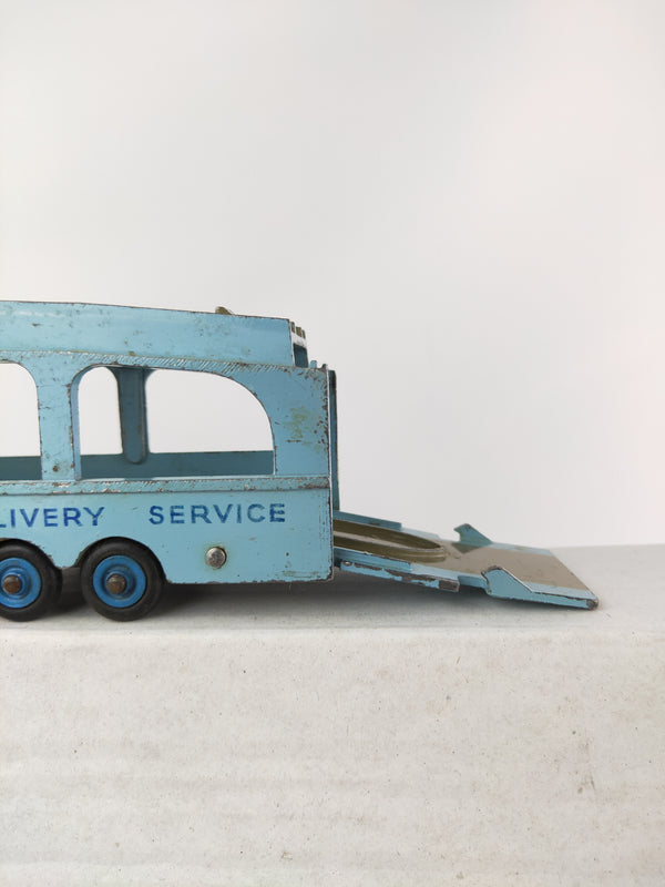 Meccano Dinky Toys vintage blue delivery truck toy