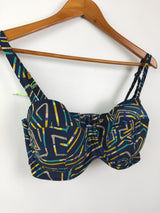 Lilly & Lime multi coloured bikini top (34 FF)