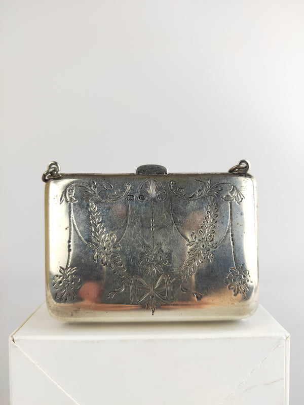E.J. Houlston Sterling Silver mini purse (1916)