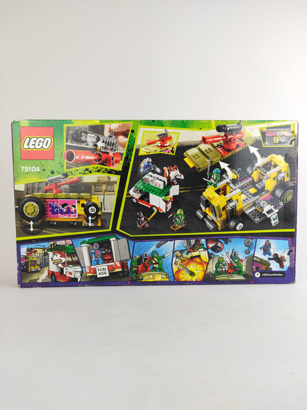 LEGO Teenage Mutant Ninja Turtles The Shellraiser Street Chase 79104 set
