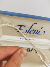 Eleni vintage freshwater pearl necklace