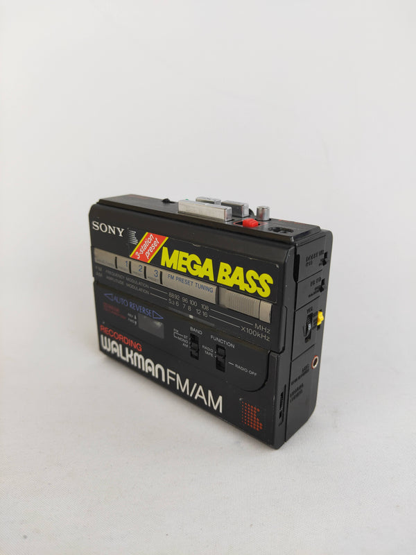 Vintage Sony Megabass Walkman Cassette Player WM-BF67