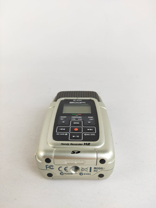 Zoom silver Handy recorder H2
