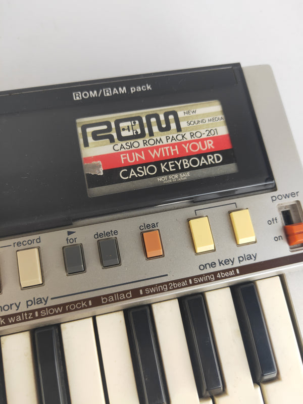 Casio PT-50 ROM grey mini keyboard