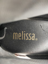 Melissa black & marbled grey shoes (size 38 EU)