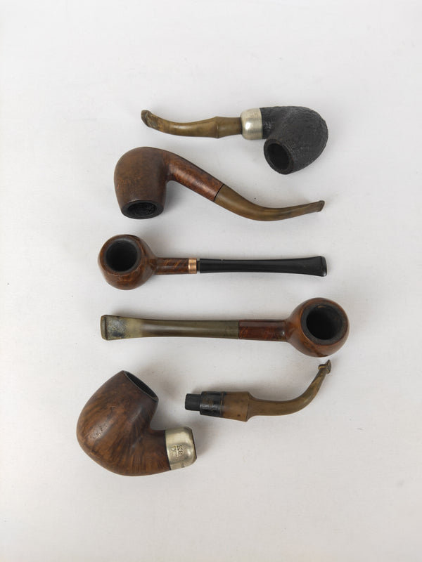Assortment of wooden  pipes