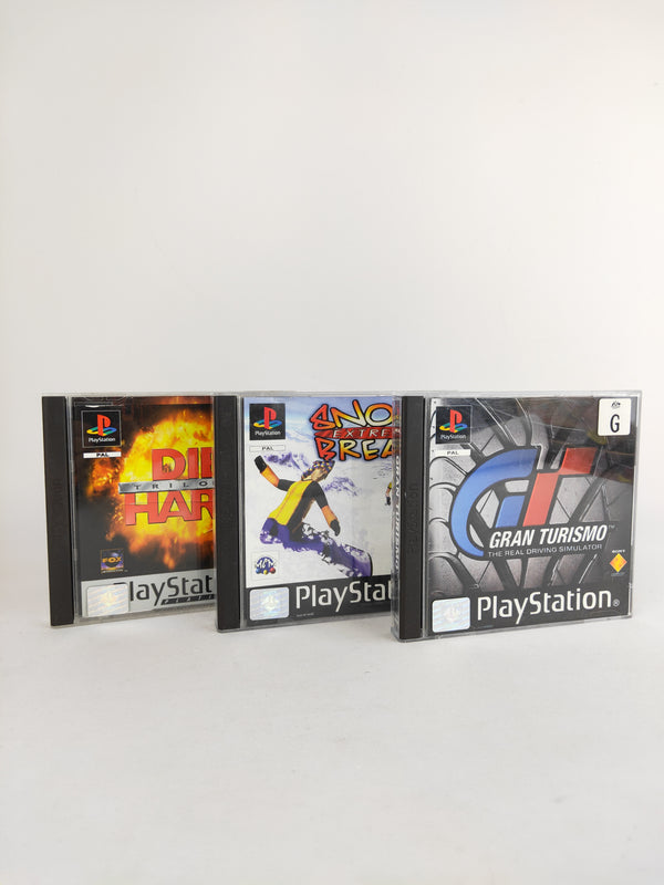 Classic PS1 3 game bundle