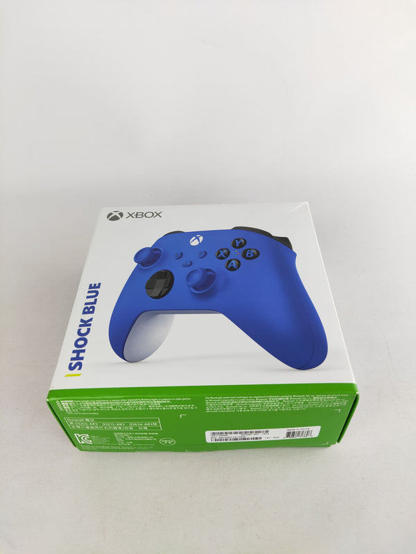 Xbox Series X Shock Blue Controller (New)