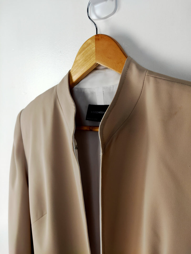 Stitches Latte Business Overcoat (size 10 AU)