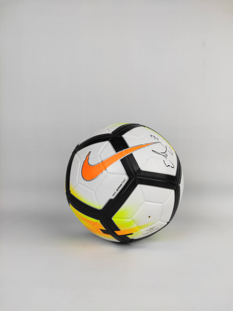 Replica Nike Ordem Match Ball signed by Mathildas Captain