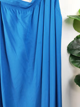 Witchery cobalt blue one shoulder dress (size 14 AU)