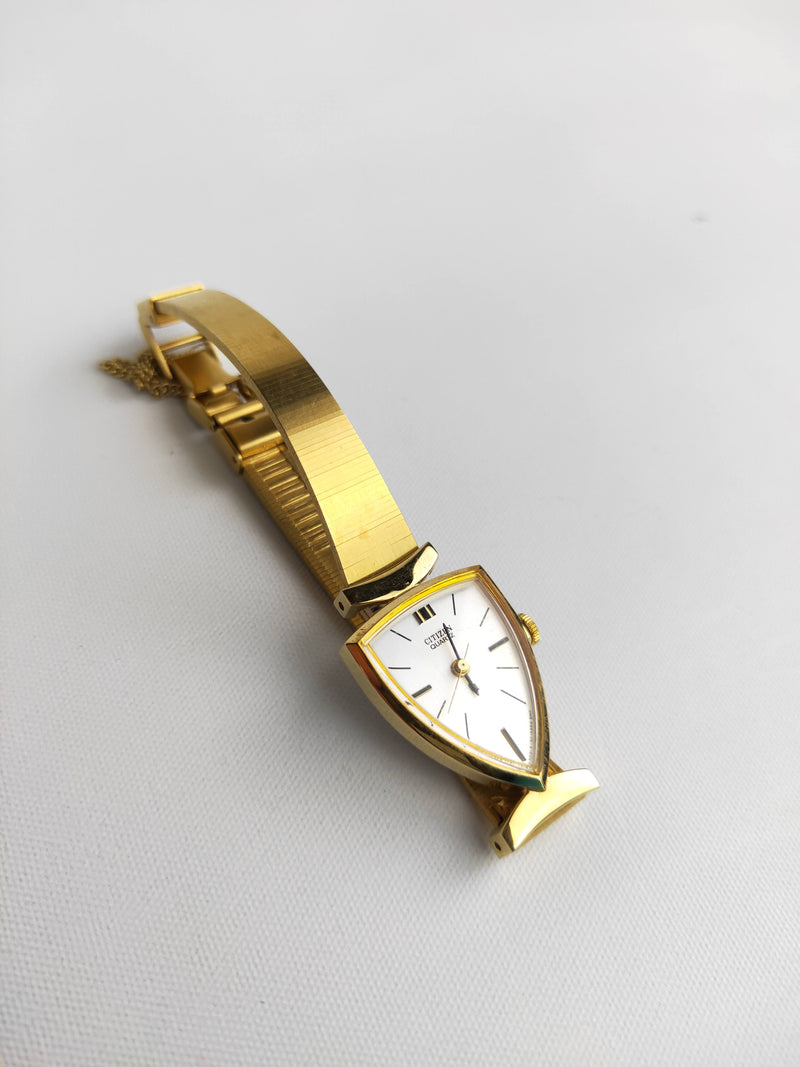 Citizen Gold Narrow Band Wristwatch