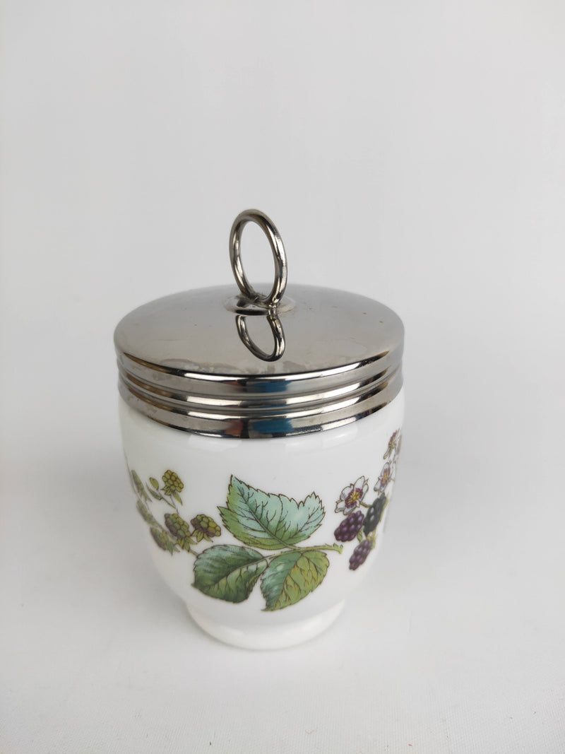 Royal Worchester Blackberry Medium Egg Coddler