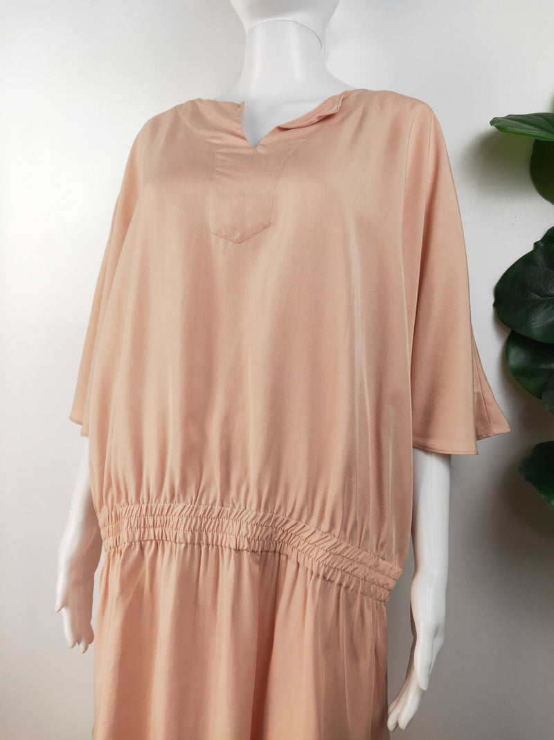 Cable pink kaftan dress (size large)