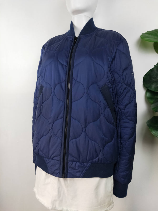 G-Star raw blue quilted jacket (size medium)