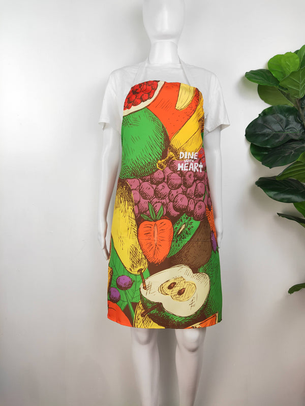 'Dine With Heart' Fruit Limited Edition Apron