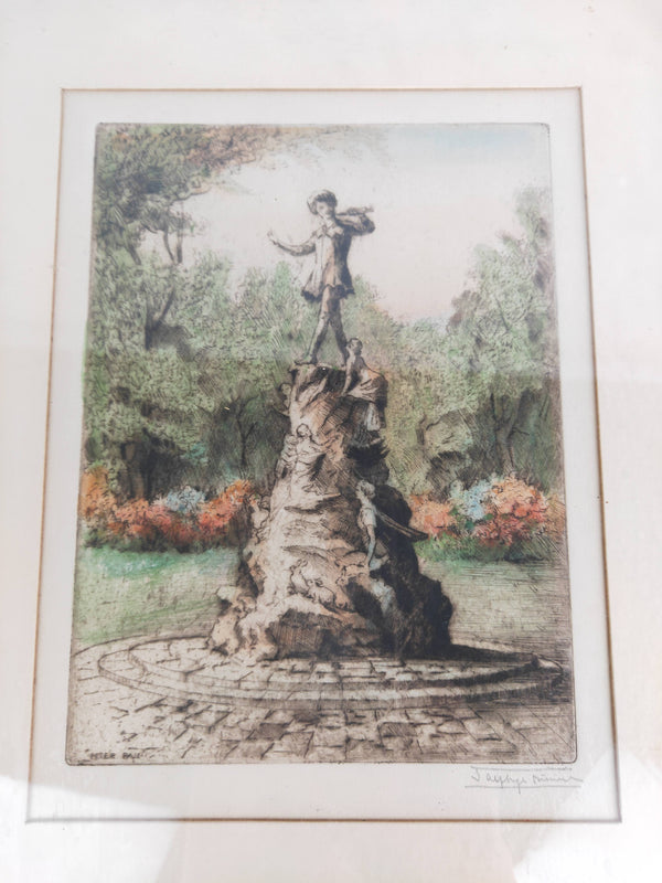 Limited Edition Original Etching by J Alphege Brewer