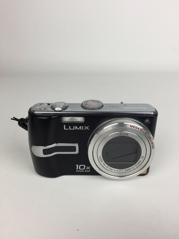 Lumix black 10x Digital Camera (DMC-TZ3)