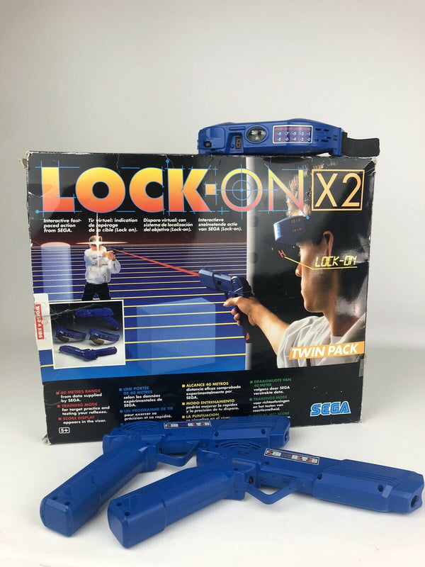 Sega Lock On Game in original box