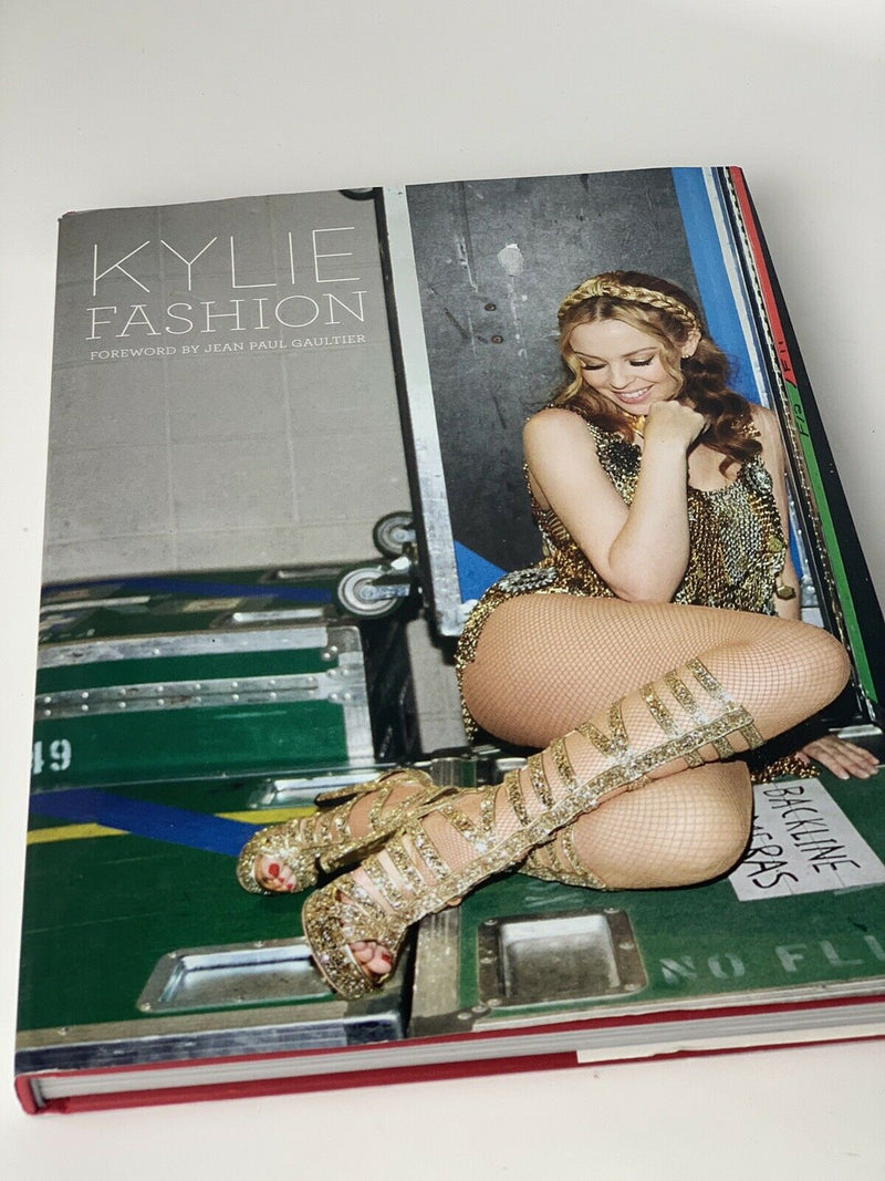 Kylie Fashion Foreword By Jean Paul Gaultier Hardcover Book