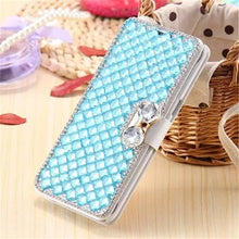 Load image into Gallery viewer, Jeweled Rhinestone Phone Case