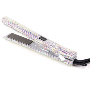 Professional Crystal Flat Iron