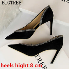 Load image into Gallery viewer, Rhinestone Heels