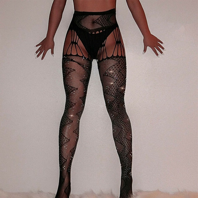 Mesh Fishnet Tights