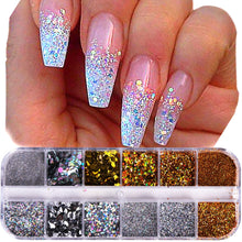 Load image into Gallery viewer, Nail Glitter