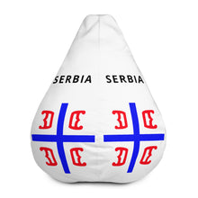 Load image into Gallery viewer, Serbia Bean Bag Chair Cover