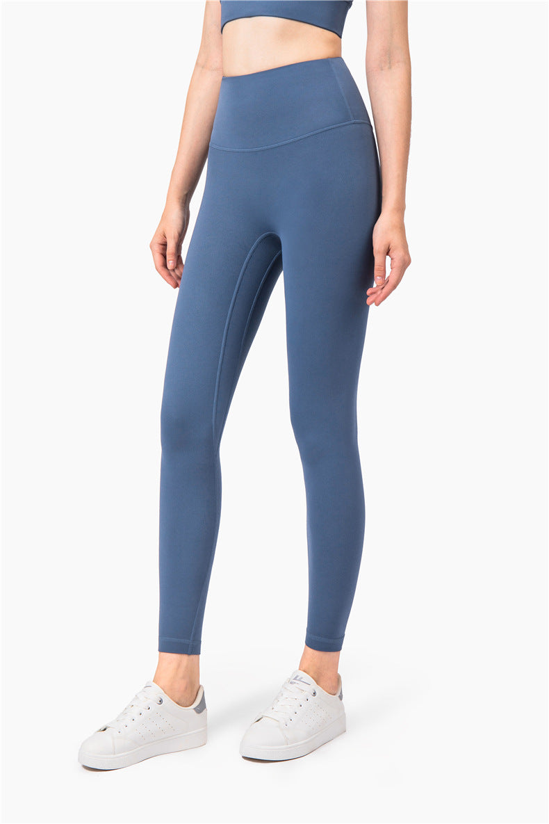 Ida High Waisted Full Length Leggings - Color: Cobalt Blue - Zeebra Activewear