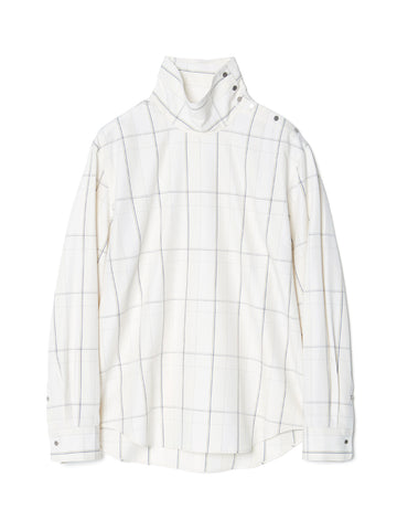 HIGH NECKED PULLOVER SHIRT