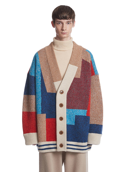 【PRE ORDER】COLOR MIXED WOOL CARDIGAN JACKET1
