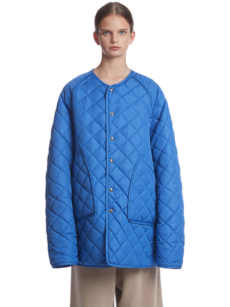 TRUNKPROJECT QUILTED JACKET BLUE1