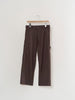 CAMIEL FORTGENS WORKER PANTS BROWN 10