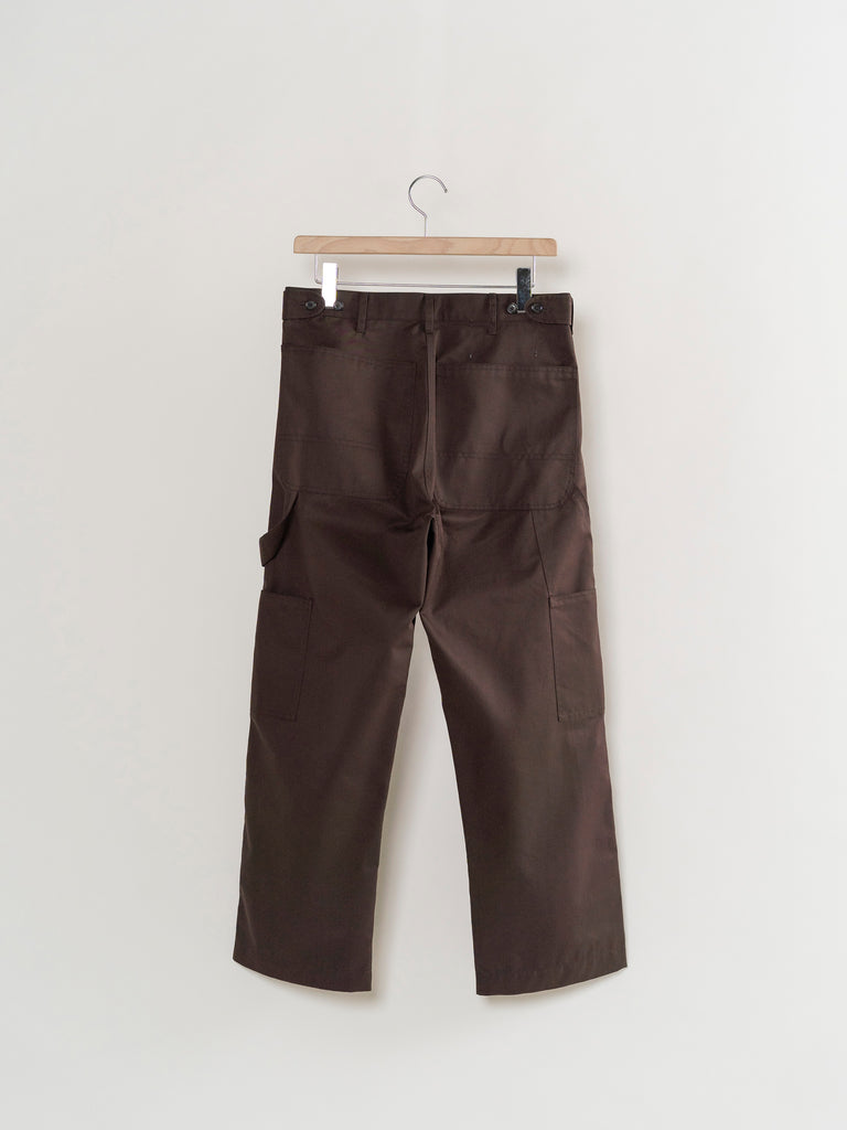 CAMIEL FORTGENS WORKER PANTS BROWN 12