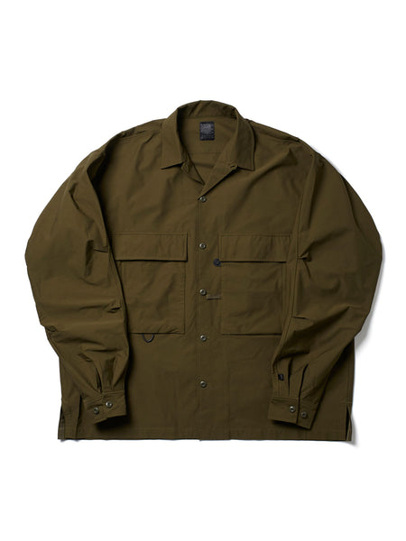 TECH MIL OPEN L/S OLV