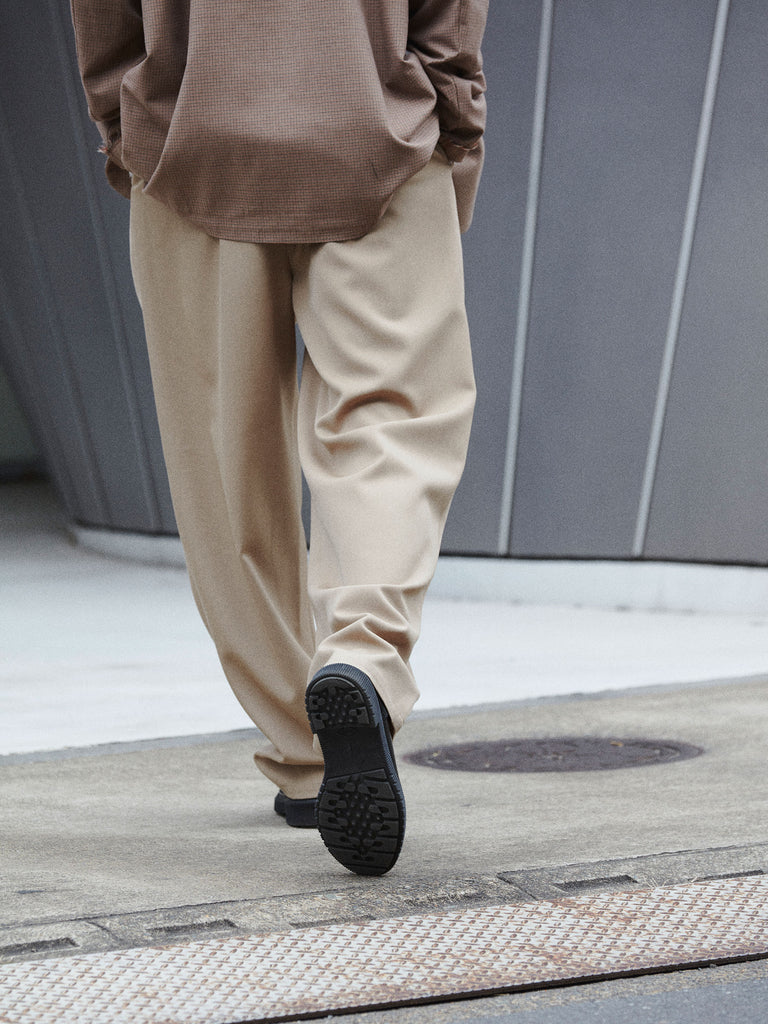 CASUAL SUIT PANTS WOOL SAND6